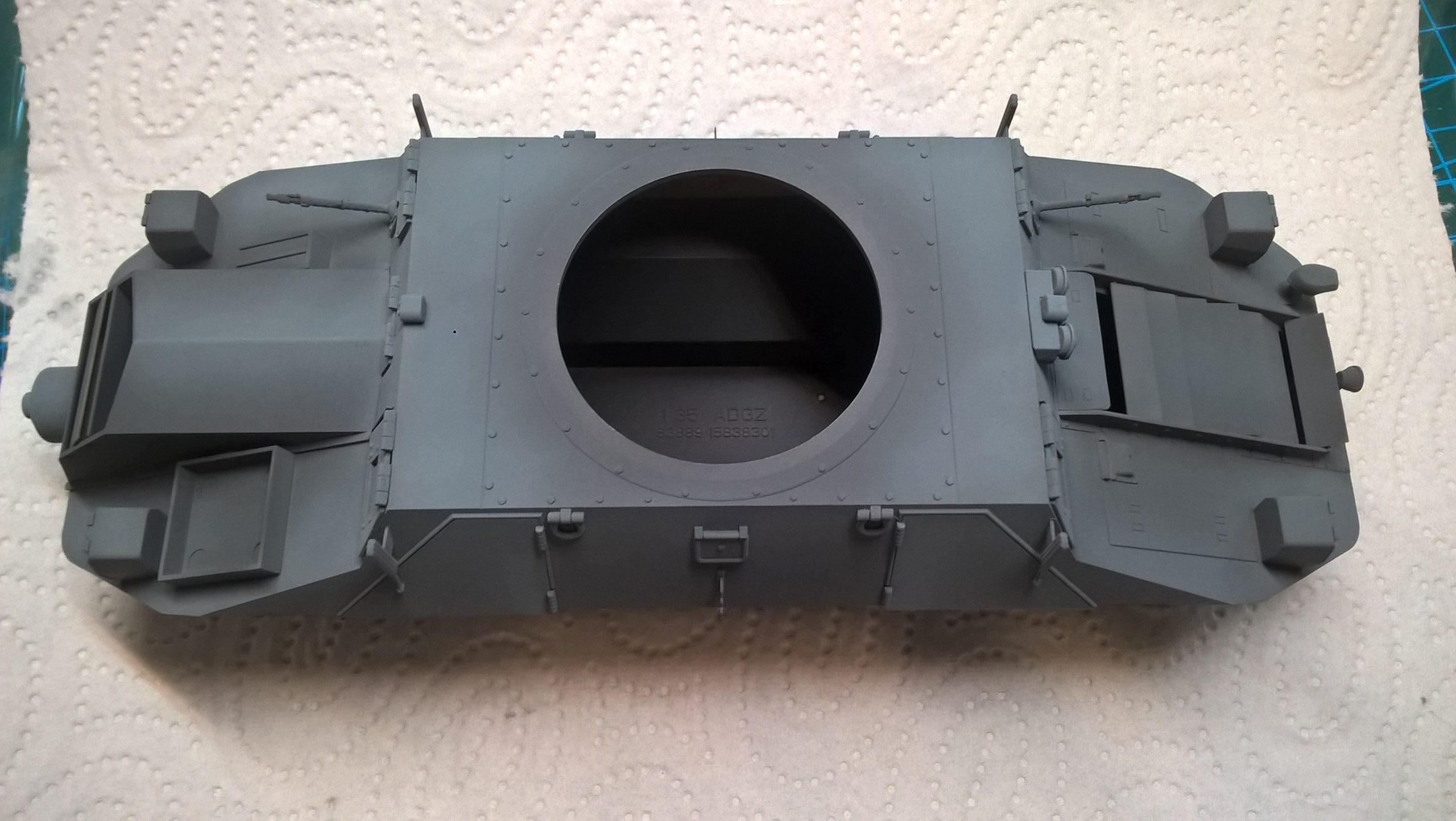 Model M35 Mittlere Panzerwagen 040