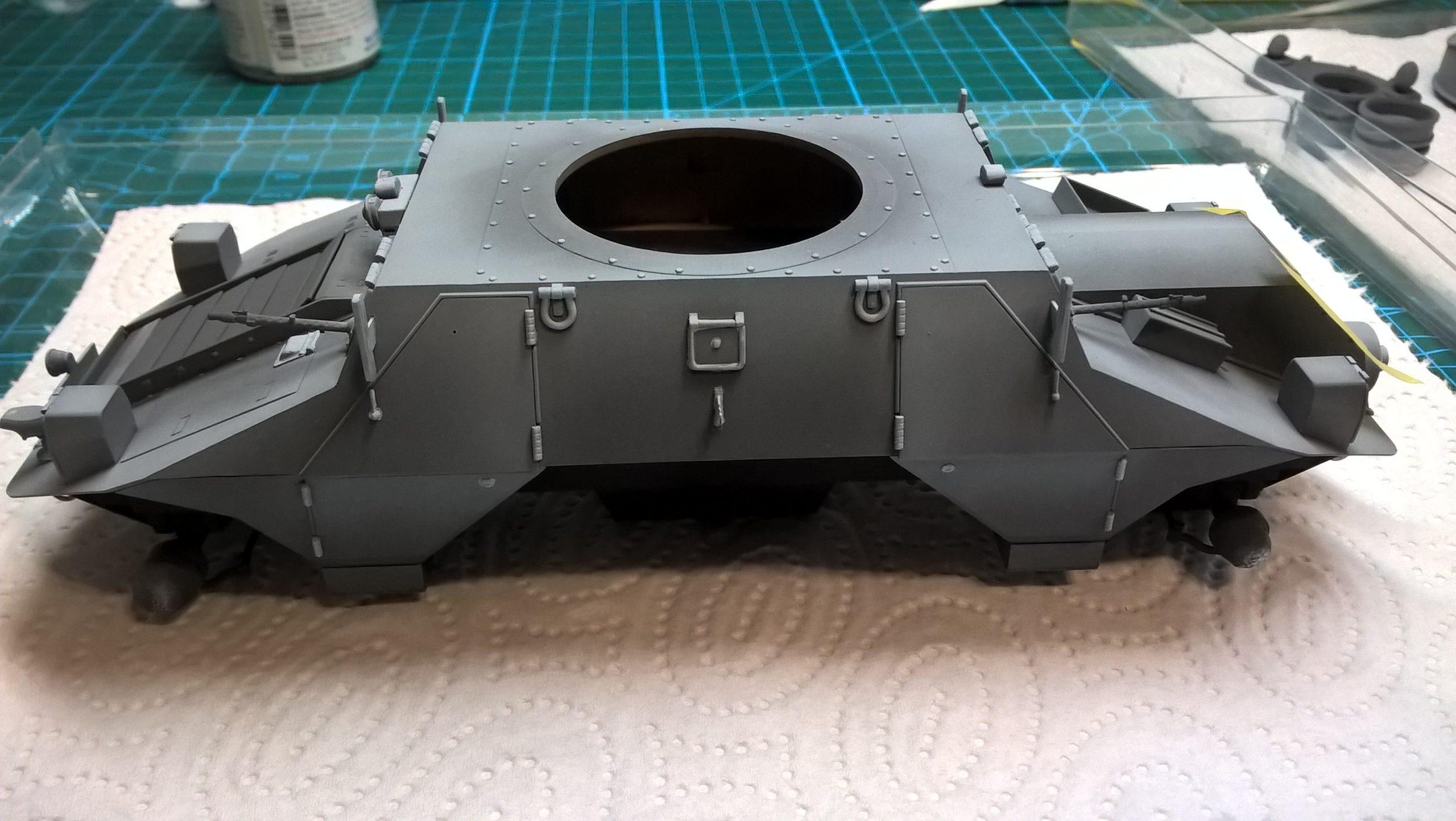 Model M35 Mittlere Panzerwagen 050