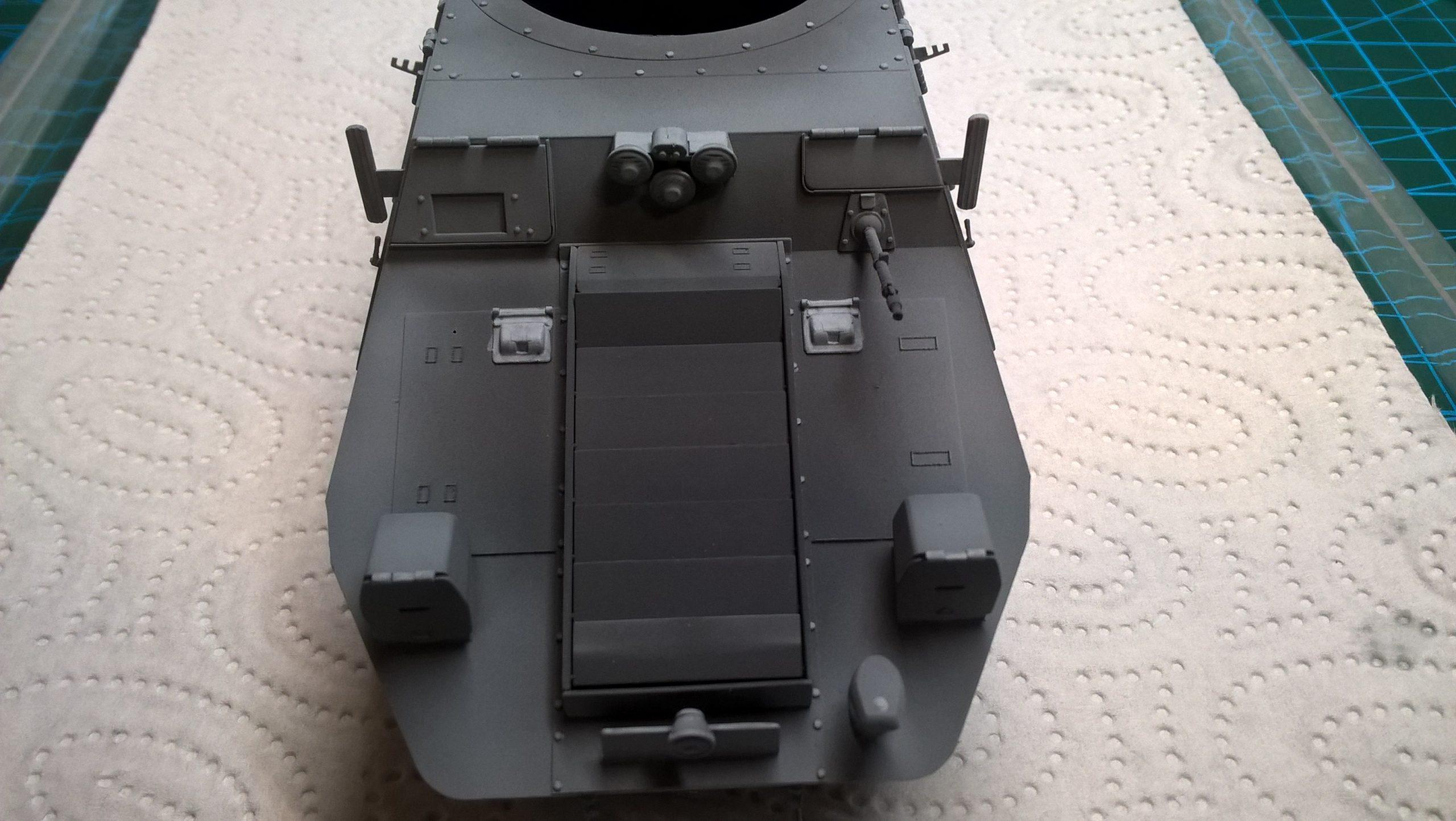 Model M35 Mittlere Panzerwagen 054