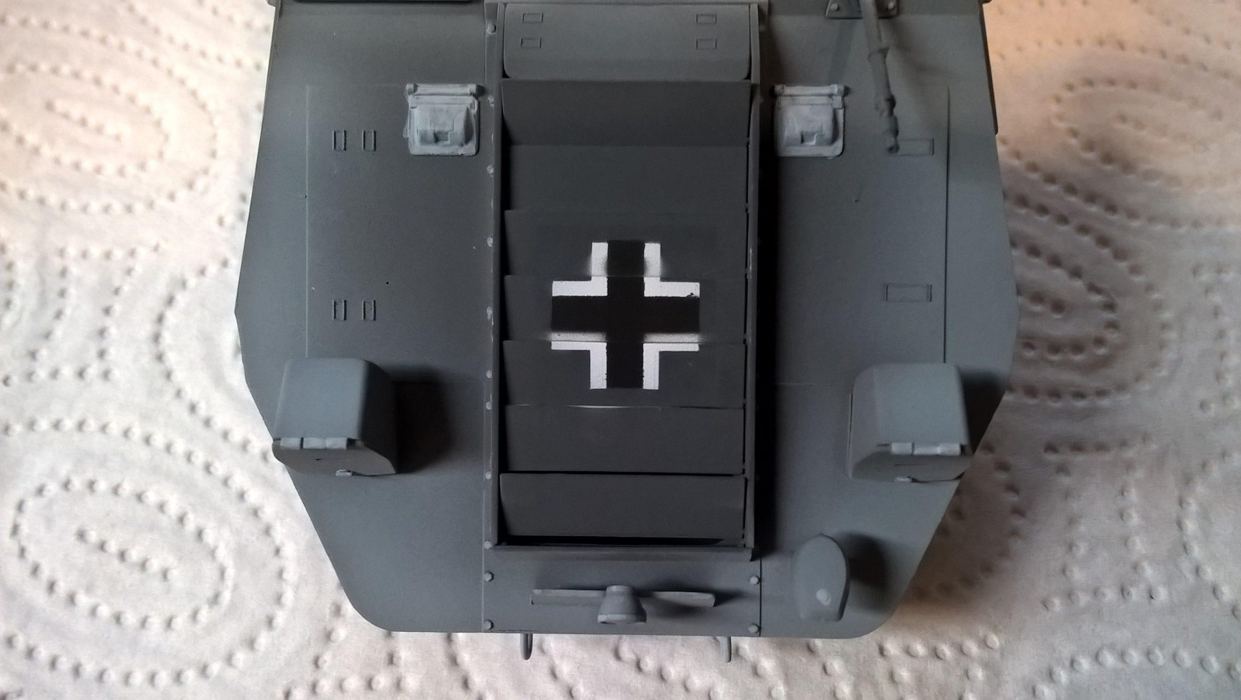 Model M35 Mittlere Panzerwagen 058