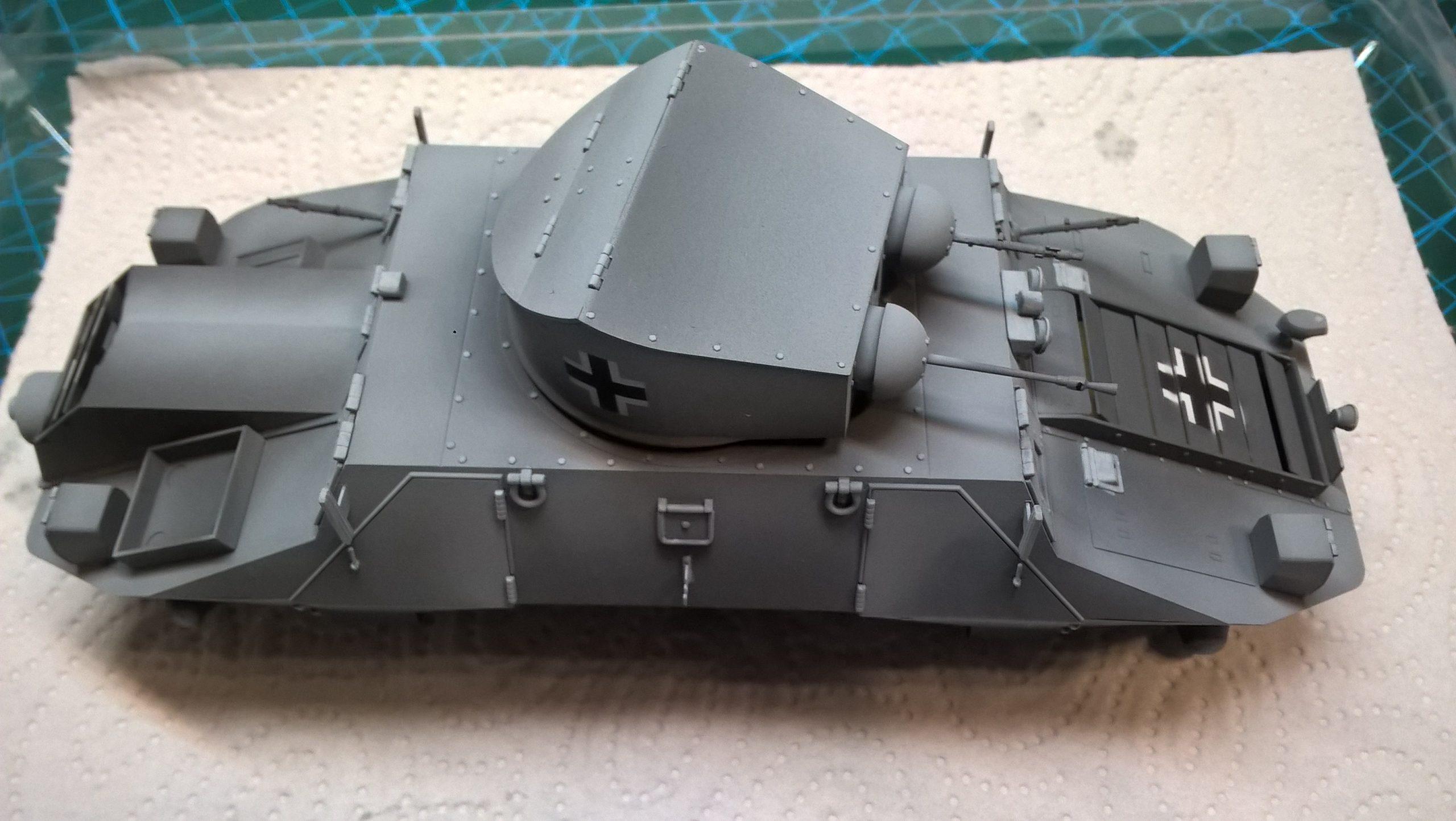 Model M35 Mittlere Panzerwagen 059