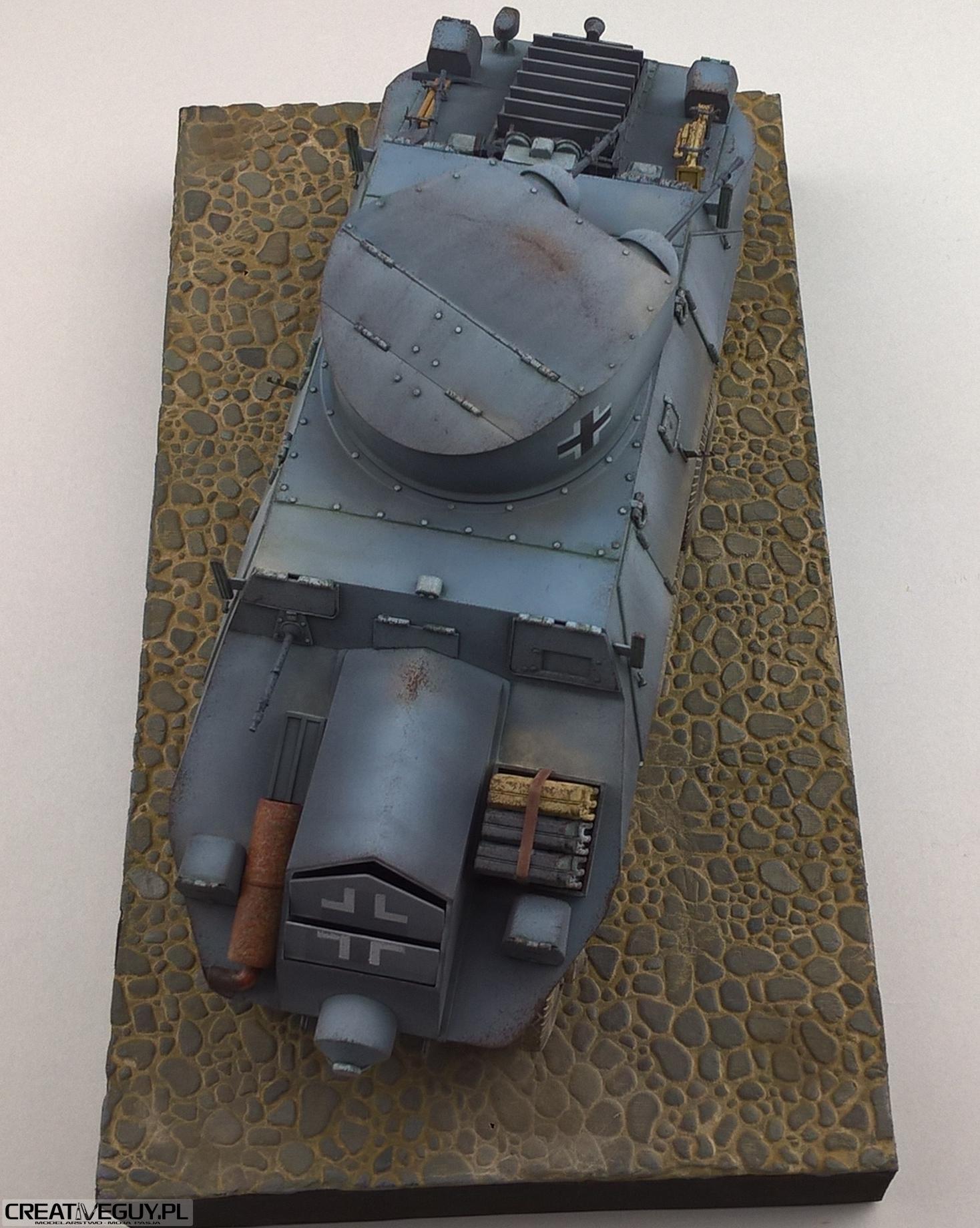 Model M35 Mittlere Panzerwagen 136