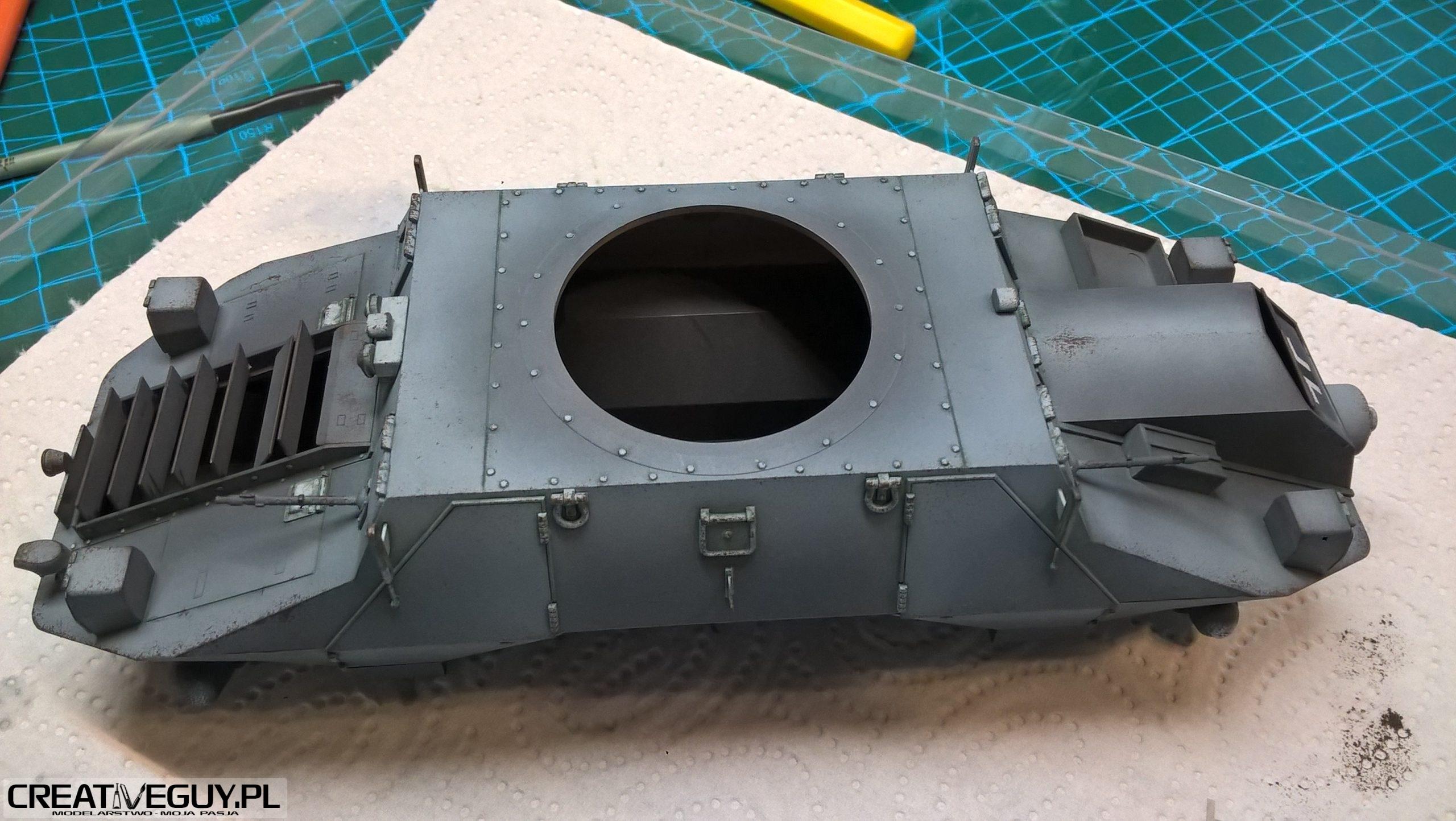 Model M35 Mittlere Panzerwagen 70